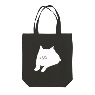 ウザいねこ Tote bags
