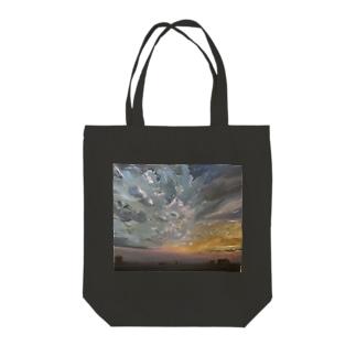 夕空グラデーション Tote bags