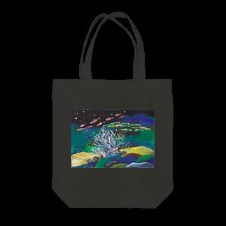 savaのうみのなか 木のサンゴ Tote bags