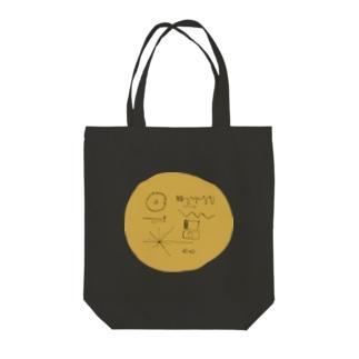 ゴールデンレコード Tote bags