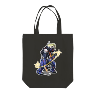 FIGHTING EX LAYER - Doctrine Dark Tote bags