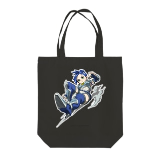 FIGHTING EX LAYER- Blair Dame Tote bags