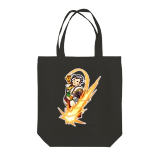 FIGHTING EX LAYER - Vulcano Rosso Tote bags