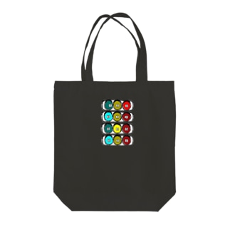 しんごうきくん Tote bags