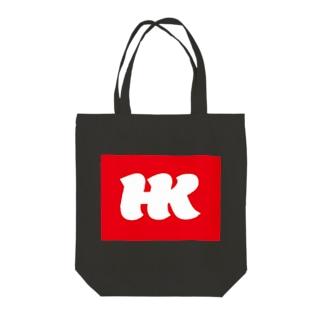 HKブランケット05 Tote bags