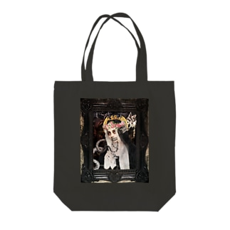 Death and Sin Tote bags