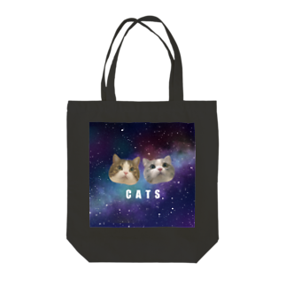 PonzU Shopの宇宙にゃんこ Tote bags
