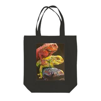 Colorful CREAM Tote bags
