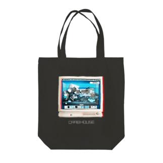 かにのおうち(CRAB HOUSE) Tote bags
