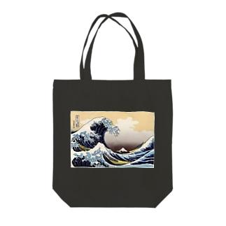 富嶽三十六景 Tote bags
