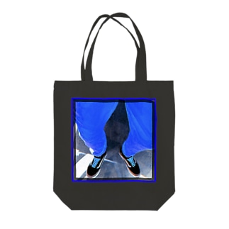blue 1 Tote bags