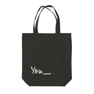 You_ Tote bags