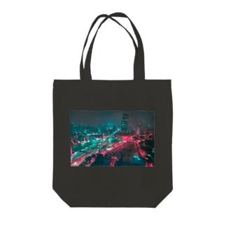 ベトナム夜景 Tote bags
