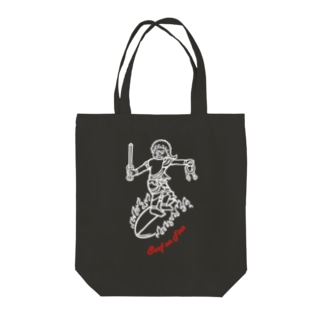 Surf(WH/RD) Tote bags