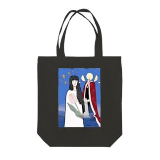 上/うえの演劇 Tote bags