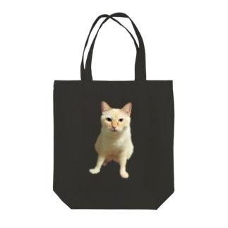 にゃーちゃん3BIG Tote bags