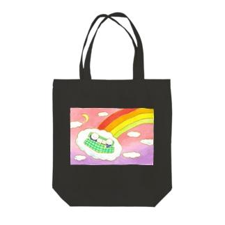 虹のふもと Tote bags