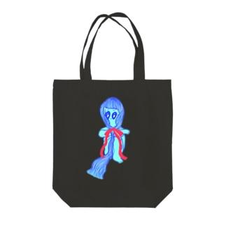 HISOMU MUSUBI Tote bags