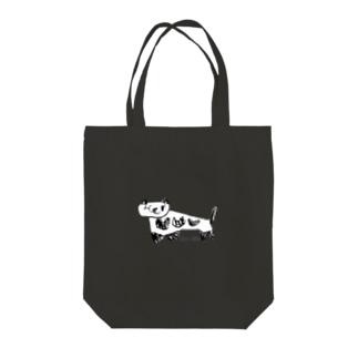 にーや(靴下) Tote bags