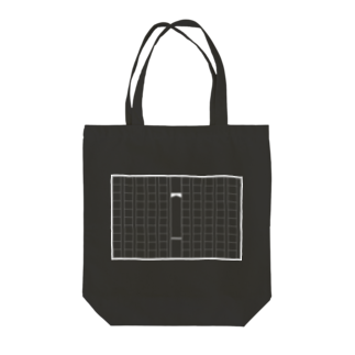 Tabの黒い原稿用紙 Tote bags