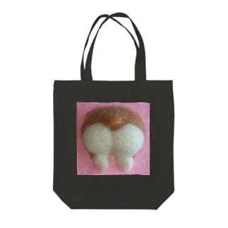 コーギーのおしりっ Tote bags