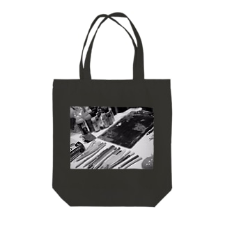 ライブペイント 画材 Tote bags