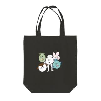 5ひき集合 Tote bags