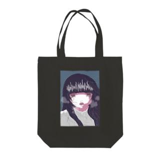 泣き虫な女の子 Tote bags
