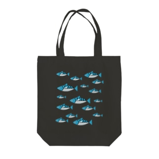 Maquereau君 Tote bags