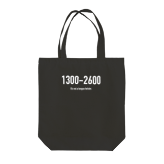 wlmのPOINTS 1300-2600 Tote bags