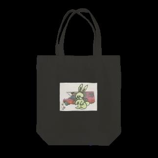 まっちゃんのブタ屋のムンプス Tote bags