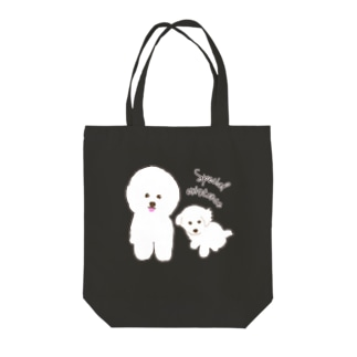 Bichon Frise Special existence Tote bags