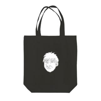 イケメン Tote bags