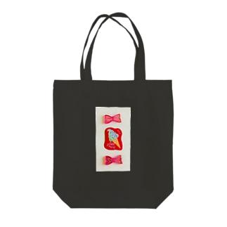 かわいいピンクたち Tote bags
