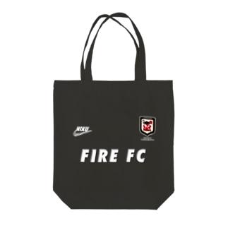 ファイヤー山本 ファイヤーFC Tote bags