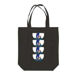 マンホールⅡ Tote bags