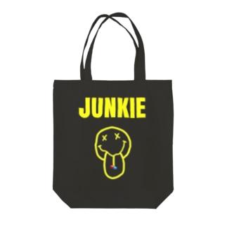 ヨタヨタのグランジジャンキー Tote bags
