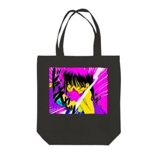 super girl Tote bags