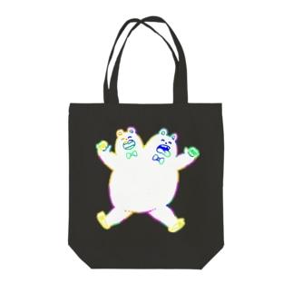仲良くズ Tote bags