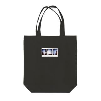 OPUチェキデザイン(お気に入り空×3) Tote bags