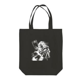 職業戦士『札士』 Tote bags