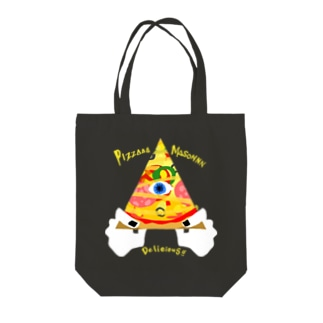 PIZZAAA Tote bags