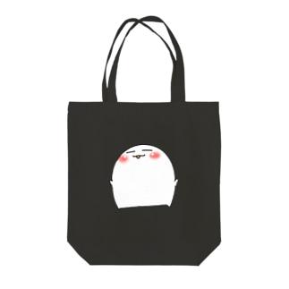 おまんじゅう君 Tote bags