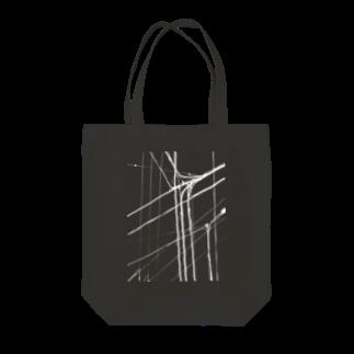 gem's companyの電線1 白 Tote bags