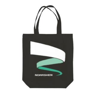 オーロラ02 Tote bags