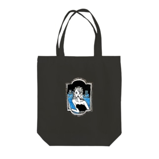 夜の恩名 Tote bags