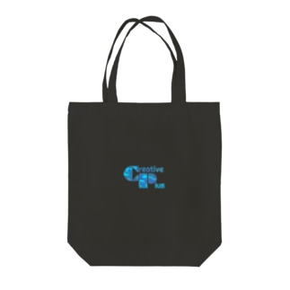 カモフラージュCP-Logo(青) Tote Bag