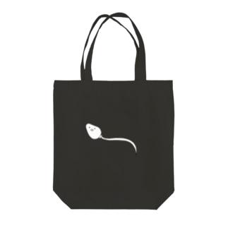 精子くん Tote bags