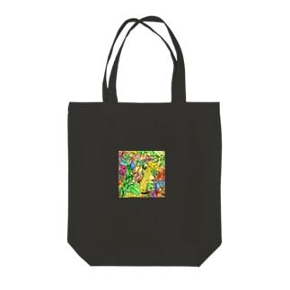 バリ王族の庭 Tote bags