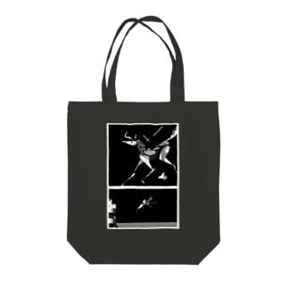 バイコーン Tote bags